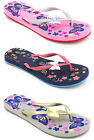 Ladies Pineapple Island Mixstar Flip Flops with Butterfly - 3 Colours