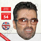 George Michael Celebrity Singer Card Mask Fun Stag&Hen Parties