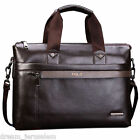 POLO Bag Men Business Laptop Briefcase Luxury Leather Shoulder Handbag