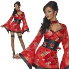 Vodka Geisha Girl Costume Sexy Ladies Fancy Dress Japanese Outfit New
