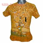 GUSTAV KLIMT Tree of Life GOLD PAINTING NOUVEAU FINE ART PRINT MENS T SHIRT *