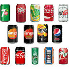 Lilt Fanta DrPepper Cherry Coke Pepsi Max Diet Coke Coca Cola Soda Cans 24x330ml £15.99  on eBay
