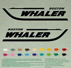 "Pair 12"" BOSTON WHALER Decals Sport Vinyl Stickers Boat Outboard Motor, lot of 2"
