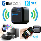 NFC Wireless Bluetooth Stereo Audio Music Receiver Adapter 3.5mm AUX For Speaker
