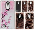 Samsung Galaxy Express 3 HARD Hybrid Rubber Silicone Case Phone Cover Accessory