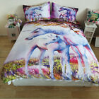 Horse Quilt/Duvet/Doona Cover Set DOUBLE QUEEN KING Size Bed Linen 100% Cotton