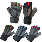 Hot Mens Weight Lifting Gym Sport Fitness Workout Training Exercise Half Gloves
