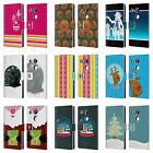 HEAD CASE DESIGNS MIX CHRISTMAS COLLECTION LEATHER BOOK CASE FOR LG NEXUS 5X