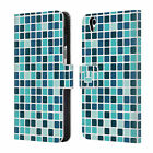 HEAD CASE DESIGNS MOSAIC TILES LEATHER BOOK WALLET CASE COVER FOR ONEPLUS X