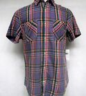 Ralph Lauren MENS PLATINUM Plaid Button Up  SHIRT NWT DESIGNER sz L