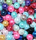 glass pearl beads, 6 mm (>15,000 pcs) & 8 mm (>10,000 pcs) option for colours*