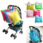 Waterproof Stroller Pushchair Diaper Baby Clothes Nappy Storage Hang Bag Pouch