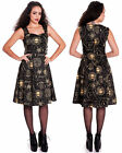 Spin Doctor Tabitha Black Magic Witchcraft Symbol Gothic Dress