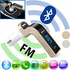 Car FM Transmitter Bluetooth Adapter Hands-free LCD MP3 Player Audio Kit Charger
