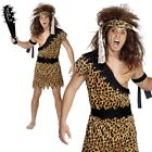 Caveman Mens Costume Stoneage Fancy Dress Outfit M,L,XL