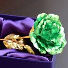 Gold Plated Rose Bunch Flower Posy Wedding Party Table Centerpiece Home Decor