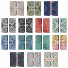 OFFICIAL MICKLYN LE FEUVRE MANDALA LEATHER BOOK CASE FOR APPLE iPHONE PHONES
