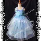 #PBB8 Girls Wedding Holiday Birthday Pageant Party Graduation Prom Dress Gown
