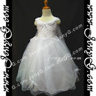 #PFW8 Girls Wedding Holiday Birthday Pageant Party Graduation Prom Dress Gown