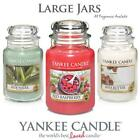 Yankee Candle Large Jar Scented Candles All Fragrances & FREE POSTAGE