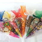 Cellophane Cone Bags *All Sizes Colours & Quantities* Gifts Sweets Party Candy