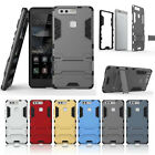 Shockproof KickStand Case Hybrid PC Tough Back Cover For Huawei Smart Phones