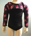 long sleeved gymnastic leotard odettedancesport ' party pink'