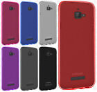 For Coolpad Catalyst Frosted TPU CANDY Gel Flexi Skin Case Phone Cover Accessory