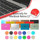 "For MacBook Retina 12"" Inch A1534 Rubberized Hard Case Silicone Keyboard Cover"