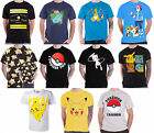 Pokemon T Shirt Pikachu ask ketchum mew poke ball mens new official Nintendo