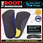 Insoles, 3/4 Orthotics, Ultra Foot & Arch Support, PlantarFascilitis, Flat Feet!