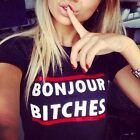 Women T-shirt Summer Tops Blouse O-neck Fashion Casual Sport Short sleeve Letter