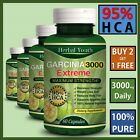 ◆◆3000mg Daily◆◆ GARCINIA CAMBOGIA Capsules HCA 95% THERMOGENIC Weight Loss Diet $6.25 USD on eBay