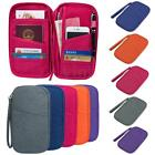 Travel Passport Credit Card Cash Wallet Purse Organizer Document Holder Bag Case