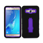 For Samsung Galaxy On5 G550 IMPACT Hard Rubber Case Cover Kickstand Accessory
