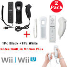 Built in Motion Plus Remote and Nunchuck Controller+Case for Nintendo Wii&Wii U