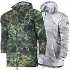 NNike Men's SB Steele Lightweight Marble Fern Print Running Full Zip Jacket