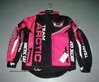 Arctic Cat Women's Pink Snowmobile Jacket Coat M Medium 5261-042 CLEARANCE