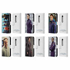 OFFICIAL STAR TREK ICONIC CHARACTERS ENT LEATHER BOOK CASE FOR MOTOROLA PHONES