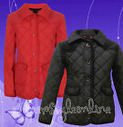 Girls Jacket School Coat Smart Quilted  * Last one Remaining Black Age 3 *