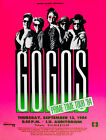 The GoGos - Prime Time Tour - 1984 - Indiana University - Concert Poster