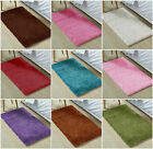 NEW Small Bright Shaggy Area Rug Mat Easy Clean for Bedroom Bed Room House Floor
