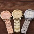Fashion Geneva Ladies Women Girl Unisex Stainless Steel Quartz Wrist Watch PHNG