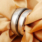 Valentine's day gifts Stainless Steel Couple Comfort Wedding Bands Ring Lover