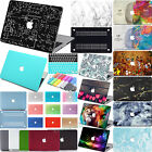 """Laptop Rubberized Hard Case+Keyboard Cover for Macbook Pro 13""""15"""" Retina 60COLOR"""