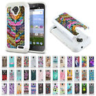 For ZTE Allstar Z818L Stratos Z819C Z819L Dual Layer Hybrid Bling Case Cover