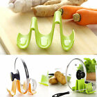 Kitchen Plastic Pot Pan Cover Lid Shell Stand Shelf Rack Holder Cooking Tools