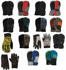 POW Men's Adult Snow Ski Snowboard Gloves All Sizes Styles New
