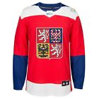 Team Czech Republic 2016 World Cup of Hockey Adidas Mens Premier Red Jersey
