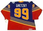WAYNE GRETZKY St. Louis Blues 1996 CCM Vintage Throwback NHL Hockey Jersey